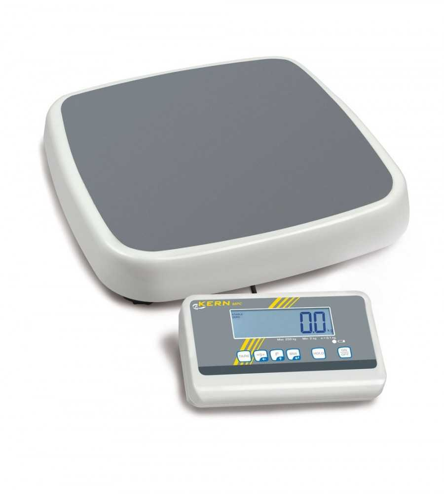 KERN MPC 250K100M Professional Step-on personal floor scale
