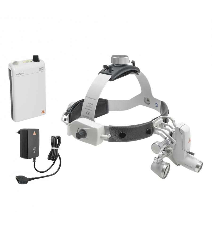 HEINE ML 4 LED HeadLight Kit 11c with HR 2.5x / 520 mm