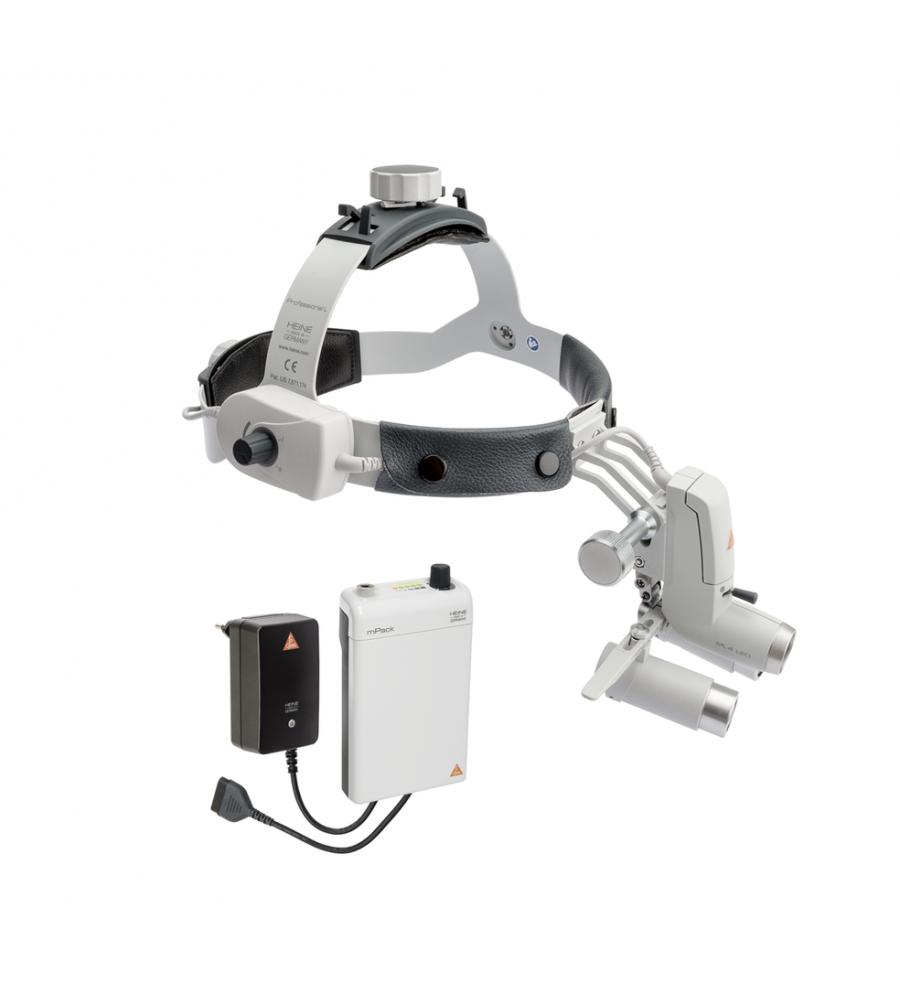 HEINE ML4 LED HeadLight Kit 5c with HRP optics 6x