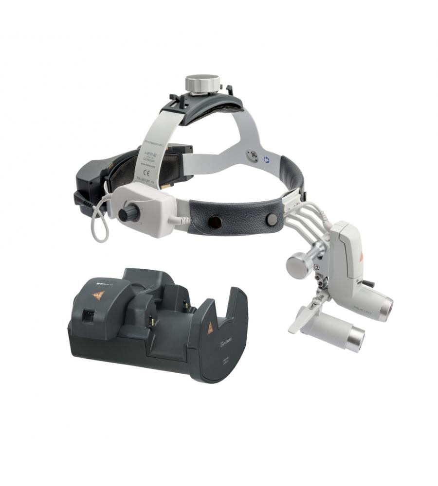 HEINE ML4 LED HeadLight Kit 9c with loupes HRP 4x