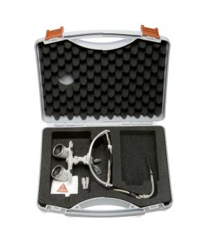 HEINE HR 2.5x 420mm Set Binocular Loupes with i-View