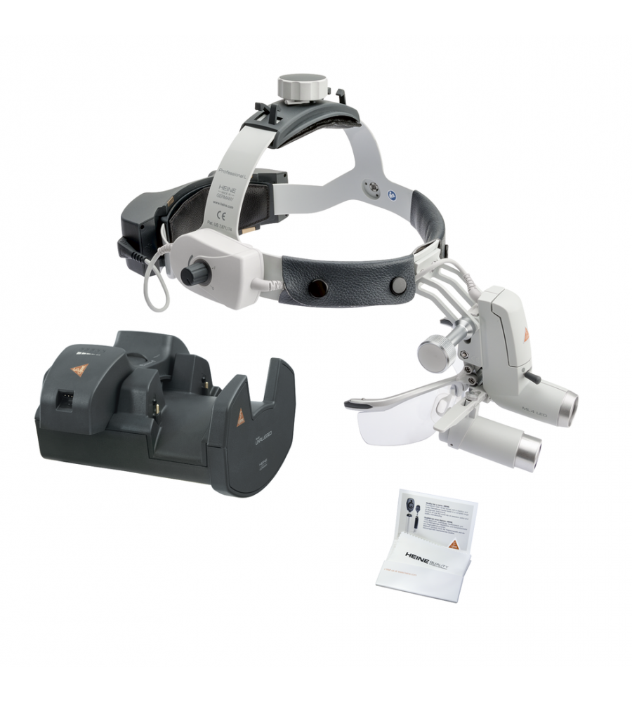HEINE ML4 LED HeadLight Kit 10 with HRP 6x loupes