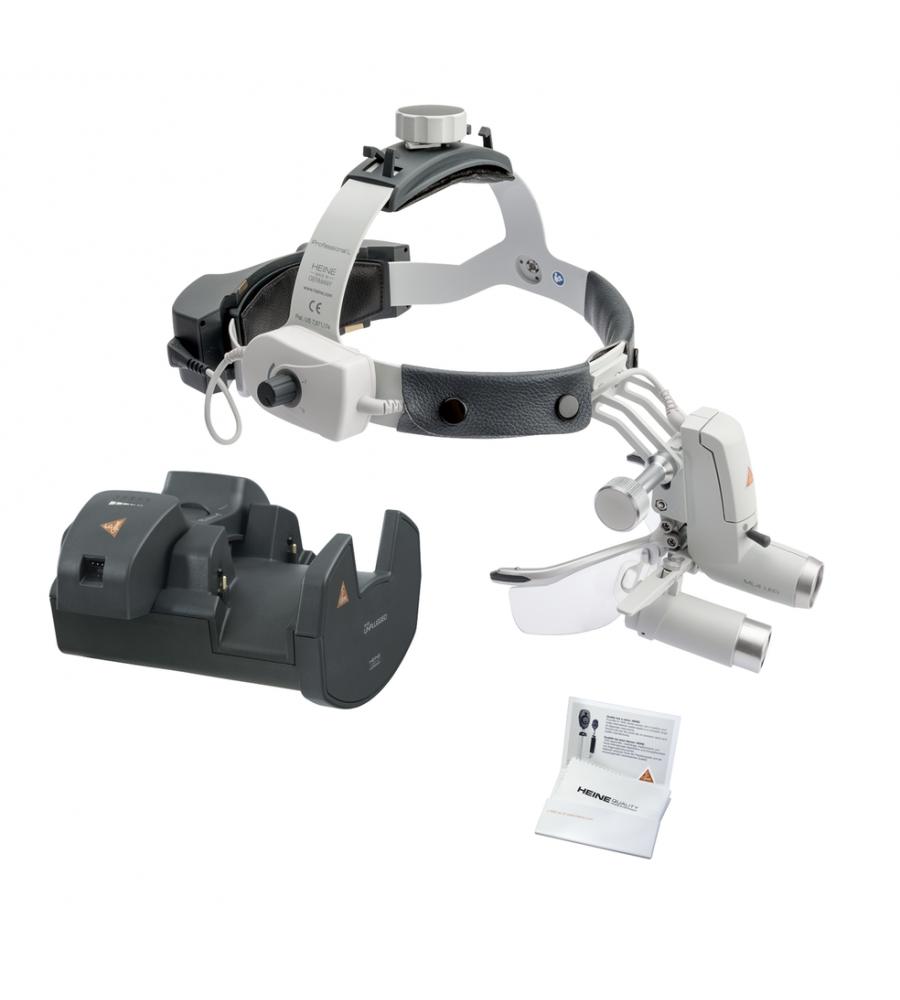 HEINE ML4 LED HeadLight Kit 8 with HRP 3.5x loupes