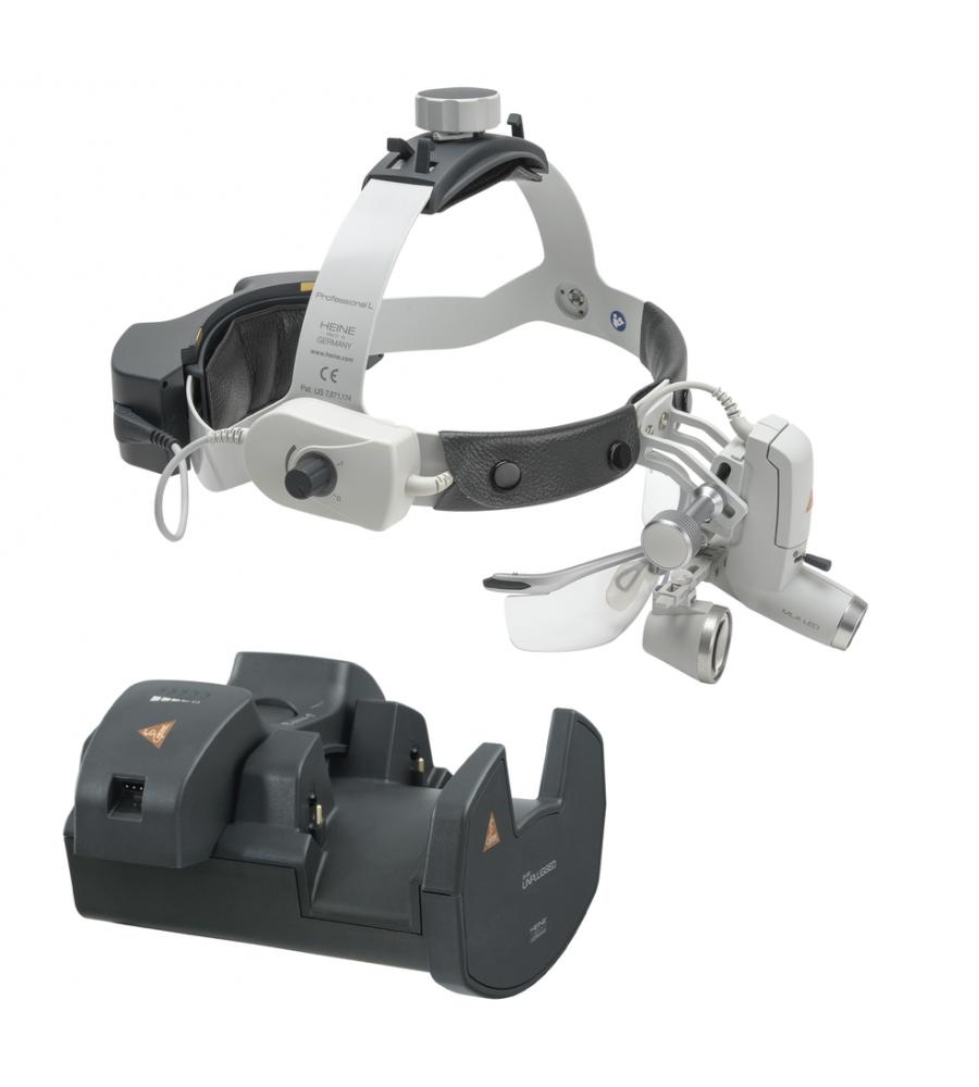 HEINE ML4 LED HeadLight Kit 6 with loupes HR 2.5x