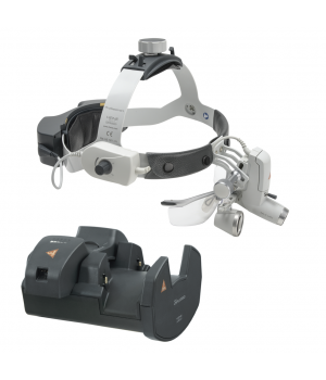 HEINE ML4 LED HeadLight Kit 7 with HR 2.5x loupes