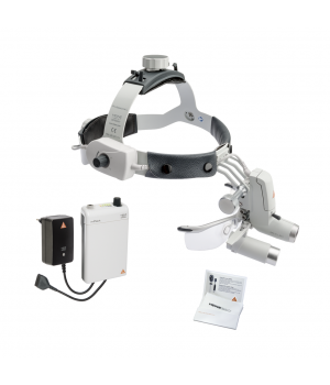 HEINE ML4 LED HeadLight Kit 5 with HRP 6x optics