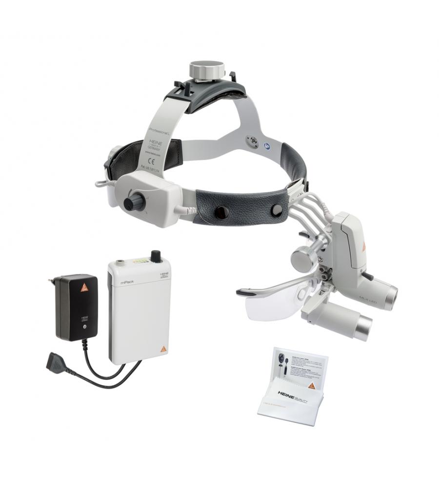 HEINE ML4 LED HeadLight Kit 3 with HRP optics 3.5x