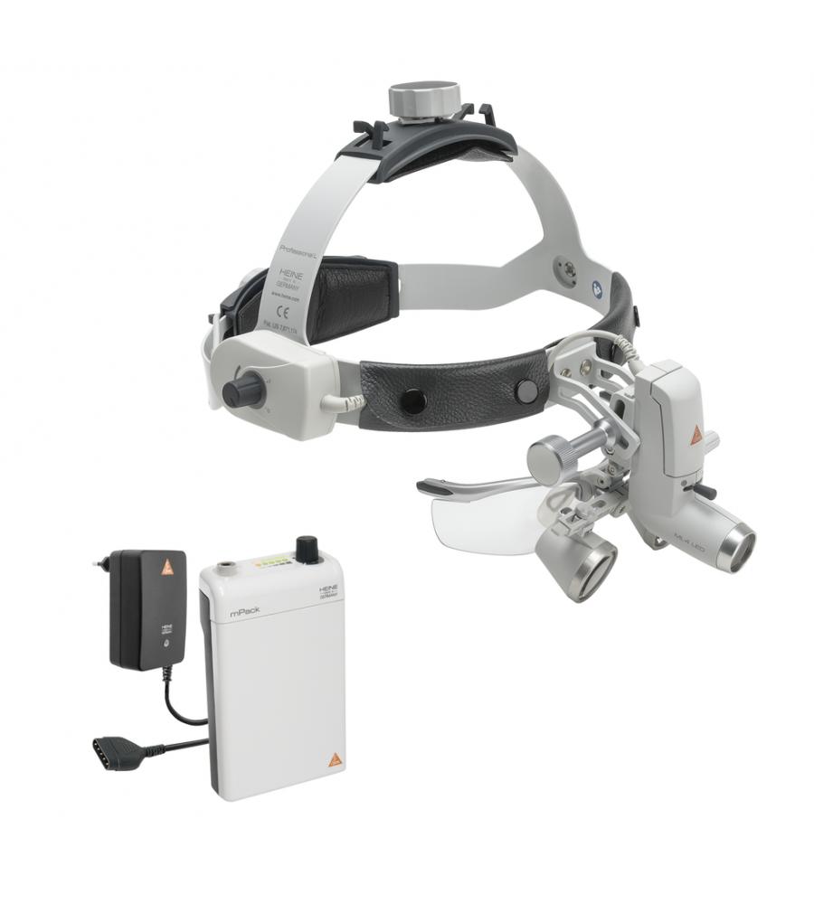 HEINE ML4 LED HeadLight Kit 2 with HR 2.5x / 420 mm