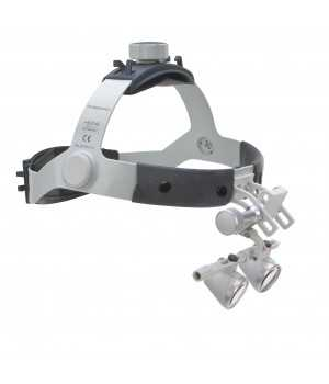 HEINE HR 2.5x 420mm Binocular Loupes on Headband