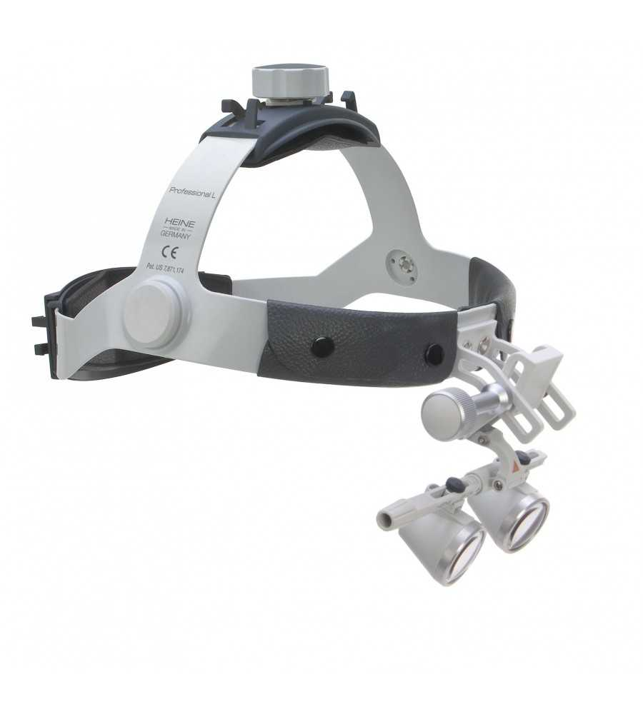 HEINE HR 2.5x 420mm Binocular Loupes on Headband