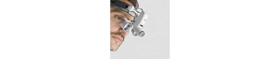 Binocular Loupes and HeadLights for dermatology