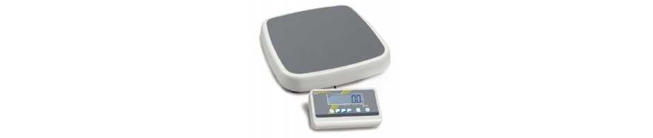 Professional personal floor scale with EC type approval and approval for medical use